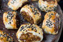 Kipsauzijnen broodjes uit de Airfrayer