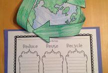 školka recyklace