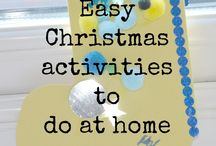 Christmas Activities / by Sandy Laca