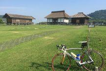 チャリ / 自転車で行った所、行きたい所