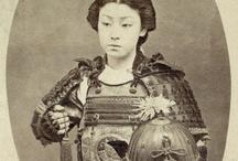 History / Female japanese warrior