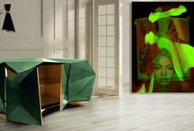MAJESTIC-WORLD.com / Interior & Art / LUXURY INTERIOR combined with ART by M. A. MARTIN