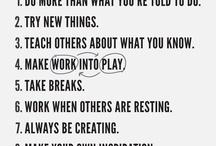 para amar o trabalho / by Autoajuda do dia