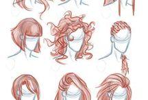 Rysowanie włosów