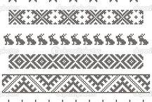 Fair isle quilts