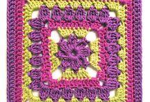 crochet - blocks, squares, motifs
