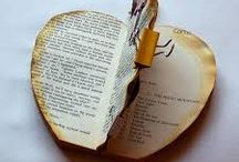 book making for romantics / manipulating paper, words, and stitch.