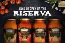 Riserva Collection / Porcini mushrooms and white truffle oil. Marinara with Parmigiani-Reggiano. Asiago Cheese and artichokes. Balsamic Vinegar and Caramelized Onions. Experience the unique taste of our Bertolli Riserva Collection of sauces.