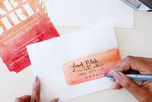 snailmail envelope inspiration