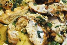 Chicken with basil n lime
