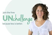 UNchallenge :: because less is better. / inspiration essentialism simplify