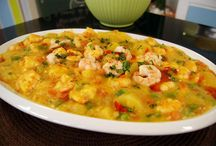 receitas com marisco / seafood recipes