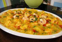 receitas com marisco / seafood recipes