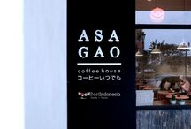 ASAGAO Coffee House: A Japanese-themed in Tangerang / ASAGAO Coffee House is one of the hypest coffee shops in Tangerang, Indonesia with the concept of minimalist decoration with the touch of Japan. There are some menu here, such as Cookies n' Cream, Kori Kohi, doughnut, Iced Chocolate, and many other