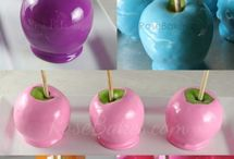 Candy apples / Manzanas de dulce