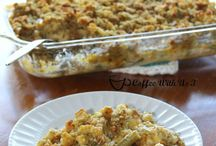 Recipes - Casseroles and One Dish