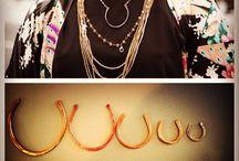 Equestrian jewelry / Fashion forward, wearable equestrian jewelry