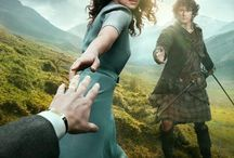 Outlander / Outlander, on screen, although a little of the books may slip in too!
