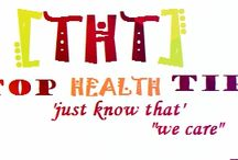 """Top Health Tips / www.tophealthtips.us is a well known and trusted blog on various health tips,covering from weight issue to fitness and diet plan. we say .. """"just know that we care"""""""