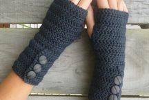 rukavice čiapky pletené