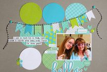 Pretty pages from scrap.