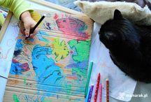 Kids Craft / Pomysły za zabawę i prace plastyczne z dzieckiem.