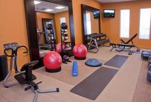 Workout room  / by Brittany Bozarth