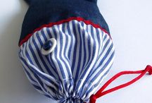 Marine life / Perfect summertime with fabric handmade crafts!