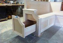 Corner kitchen tables