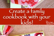 Scapbook cookbooks & scrapping