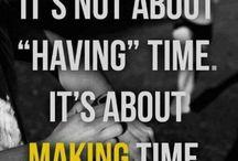 My time/ #sayyes / by Erin Dahan