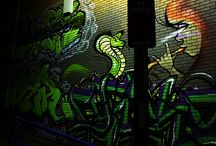 Street Art, Murals and Graffiti / Our streets are a canvas.