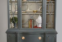Red Cabinet Ideas