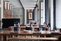 Restaurant Interiors / We've had the chance to be a part of several awesome restaurant projects tis year. Look for those and other spaces we love on this board. / by Eastvold Furniture
