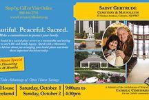 Saint Gertrude Cemetery Open House, Oct. 1-2, 2016