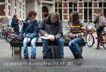 Op een bankje in Utrecht / In oktober ben ik begonnen met dit fotoblog 'Op een bankje in Utrecht'. Utrecht staat vol met bankjes en daar wordt veel gebruik van gemaakt. Op wisselende momenten en locaties ga ik bankjes fotograferen en ben ik benieuwd naar de verhalen van de 'bankzitters'. Wie zijn ze, waarom zitten ze daar? Houd deze website opeenbankjeinutrecht.nl goed in de gaten, daar vind je wekelijks nieuwe 'bankjes'! Op alle foto's berust copyright.