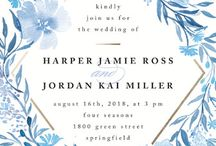 wedding invitations floral