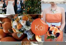 ♣Orange Wedding Ideas