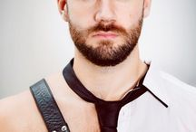 Beards, tats and men