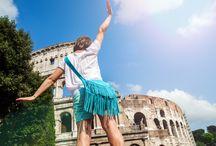Papillon Tyria in Rome / Nasza torebka ruszyła w świat... Na początek Wieczne Miasto - Roma