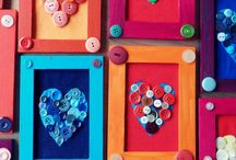 button crafts / by Jennifer Meizen