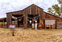 Barn Wedspiration / Anyone building a barn like these? We want to hear about it.