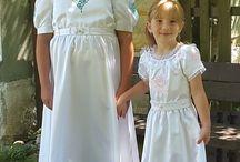 embroidery wedding dress