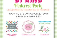 Think Spring - Inspirations, Decor and More / by Sweet Threads Clothing Co.