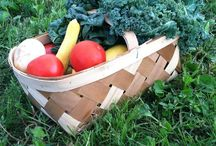 KBD - Summer Time Favorites / Fresh Fruits and Veggies!! KBD's Customer Favorite.! I don't say that lightly. This basket is the most incredible thing you will every see. We send these baskets out on our home delivery and customers wait at their door for them. You may also pre order in the store.
