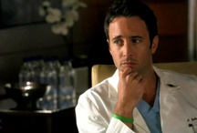 Alex O'Loughlin in Three Rivers / Here's looking at Dr Andy!