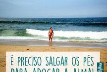 frases para foto praia