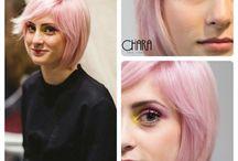 Pantone 2016 by CHS / I colori dell'anno eletti da Pantone visti secondo Chiara Hair Studio. #rosequartz #blueserenity