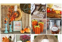 Fall decoration ideas / by Kathy Miller