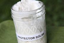 Protector solar casero